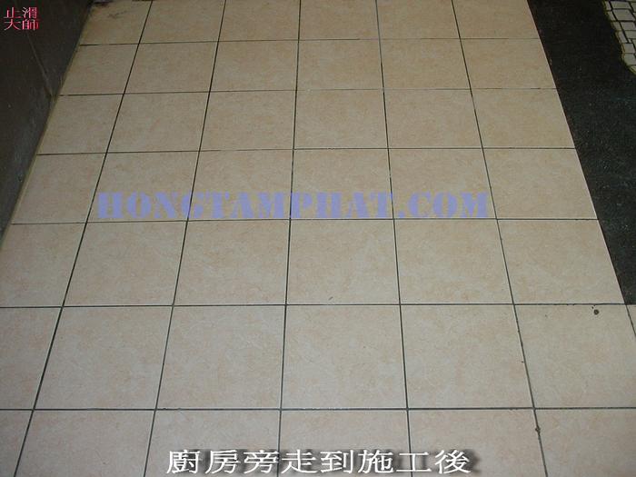 Phương pháp chà ron gạch HTP