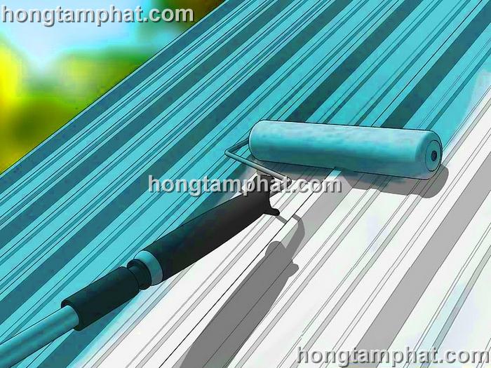 Quy trình sơn tôn nhà xưởng