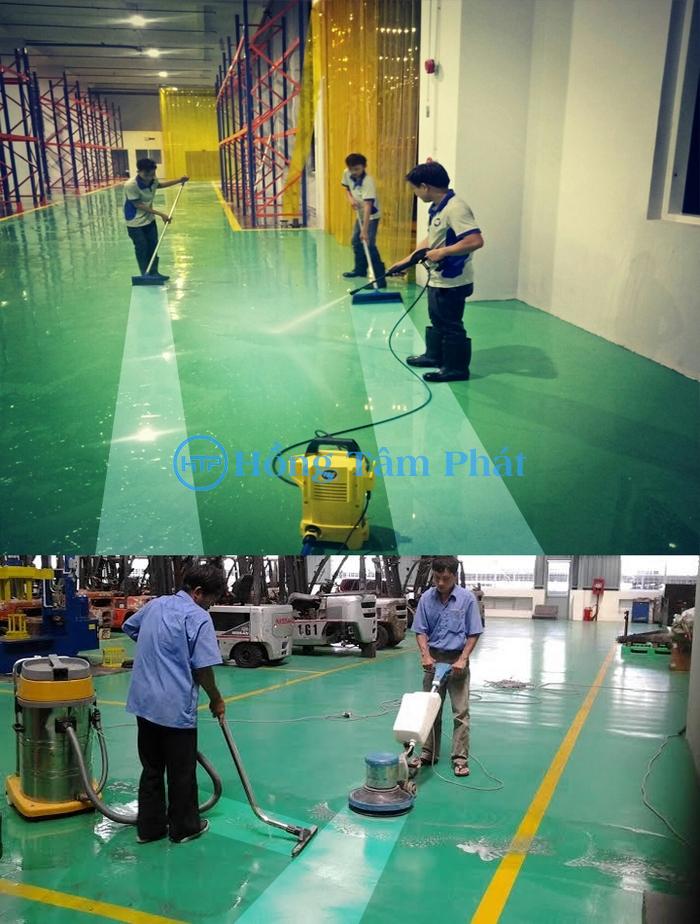 Dịch vụ làm sạch nhà xưởng HTP