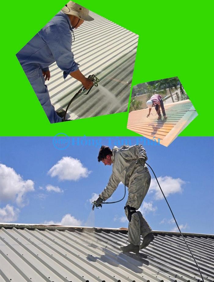 Sơn tôn nhà xưởng chống nhiệt