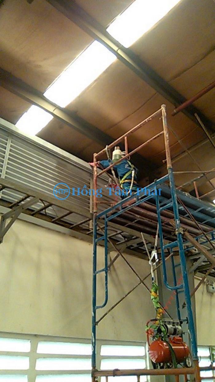 Sửa nhà xưởng tại Nhơn Trạch