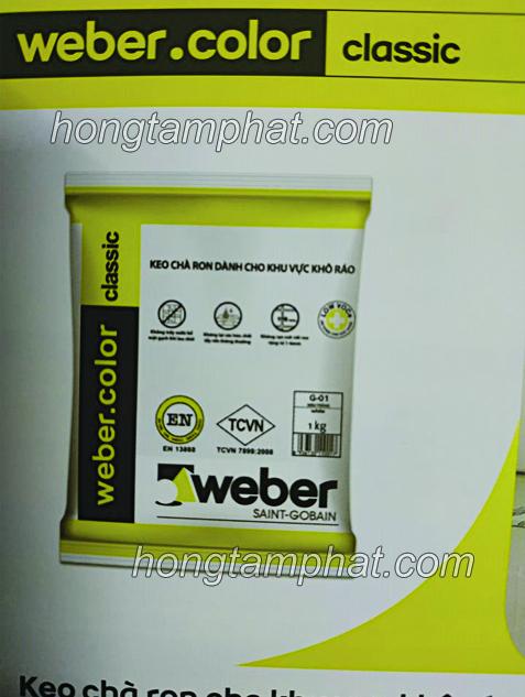 Keo Weber classic  - Keo ron nội thất chất lượng đỉnh cao